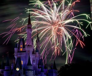 disney and fireworks image