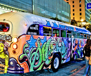 art and bus image