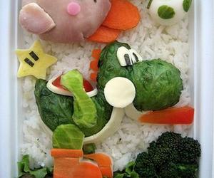 food, yoshi, and bento image
