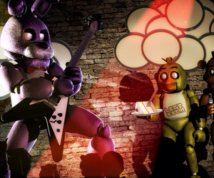 Bonnie and fnaf image