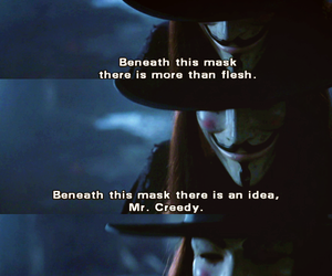 quotes, v for vendetta, and ideas image