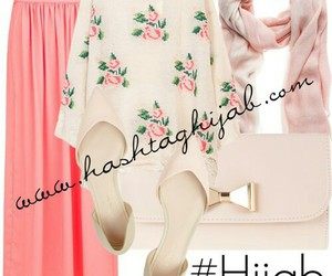 chic, hijab, and fashion image