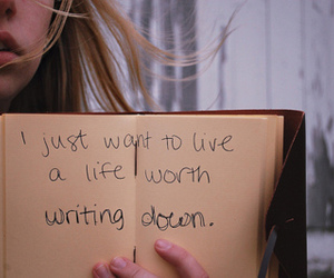life, write, and quote image