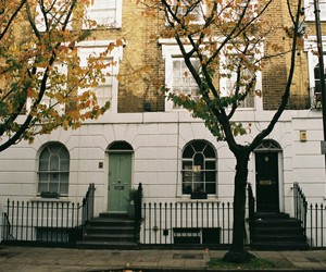 london, autumn, and places image