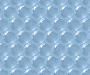 blue, background, and bubbles image