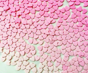 delicious, fondant, and hearts image