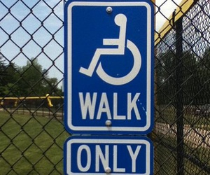 funny, handicap, and irony image