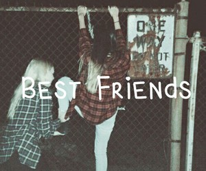 best friends, friends, and friendship image