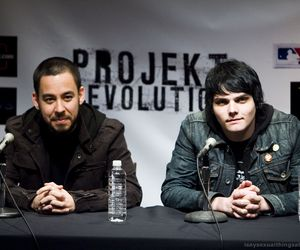 gee, gerard way, and linkin park image