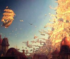 treasure planet, disney, and fly image