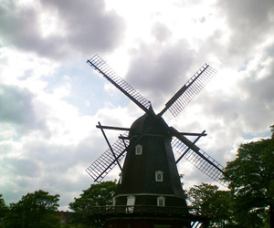holland and windmill image