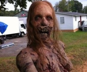zombie, the walking dead, and selfie image