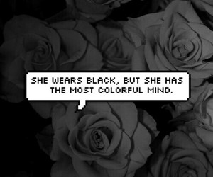 black, grunge, and quotes image