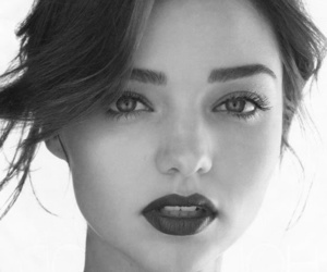 miranda kerr, model, and lips image