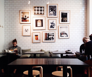 cafe, hipster, and indie image