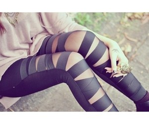 fashion, black, and ring image