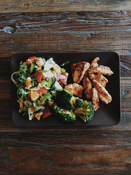 Chicken, dinner, and food image