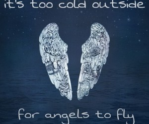 angel, cold, and fly image