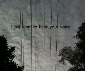 love, quote, and voice image