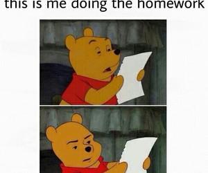 homework, funny, and lol image