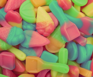 candy, colores, and sweets image