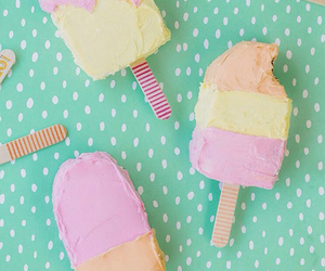 ice cream, food, and wallpaper image
