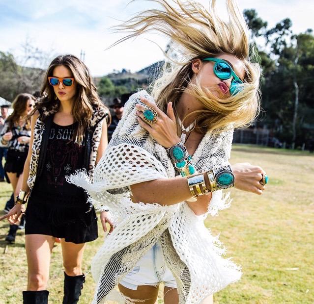 summer, festival, and coachella image