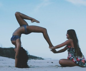vacation and yoga image