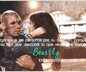 frases, libro, and beastly image