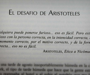 aristoteles, frases, and book image