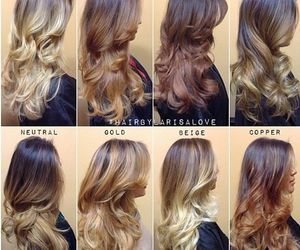 blonde, for, and ombre image