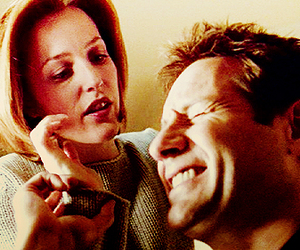 care, mulder and scully, and x files image