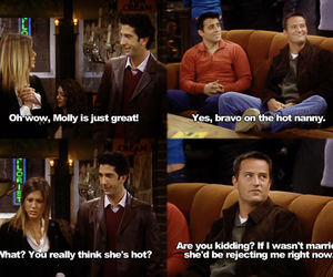 chandler, tv, and friends image