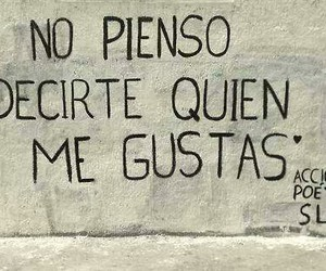 accion poetica, love, and me gustas image