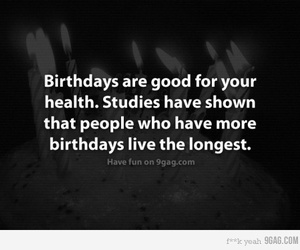 birthday and quote image