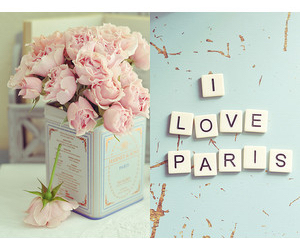 girl, paris, and love image