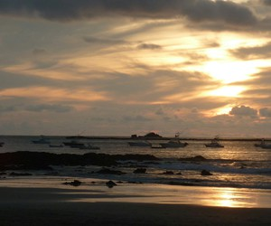 beach, costa rica, and paradise image