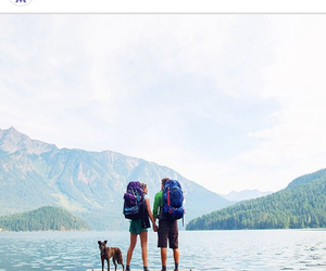 camping, fit, and healthy image