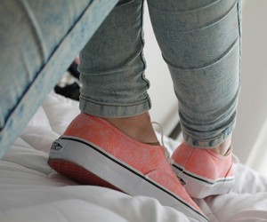 vans, shoes, and jeans image