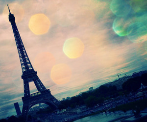 eiffel tower, cute, and awesome view image