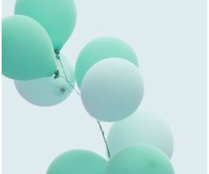 blue and balloons image