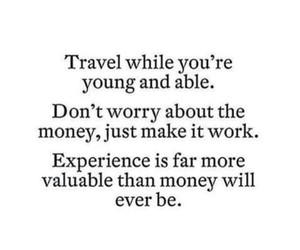 travel, quotes, and experience image