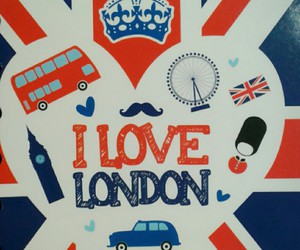 london, notebook, and love image