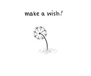 wish, gif, and flowers image