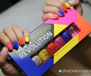 colorful, o.p.i, and nail image