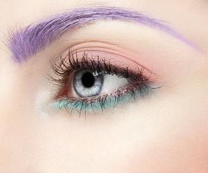 makeup, make up, and pastel image