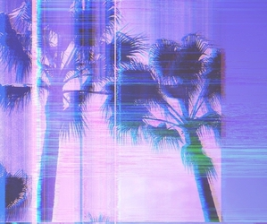 background, grunge, and palm trees image