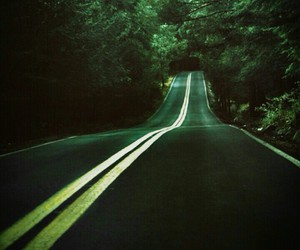 nature, road, and pretty image