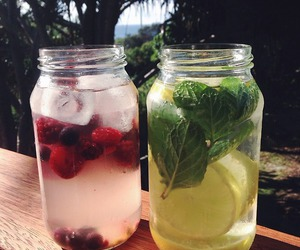 drinks, detox, and Hot image