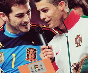 cristiano ronaldo and iker casillas image